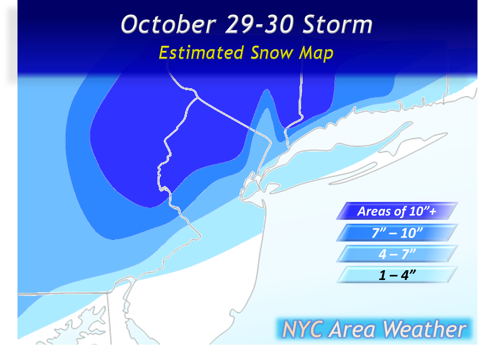 across the region significant snow accumulations were observed in parts of the interior northeast with 20 30 inches of snow in parts of western