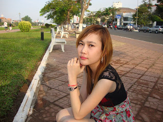 Sok Sereyrath facebook girl beauty skin Khmer girl 4