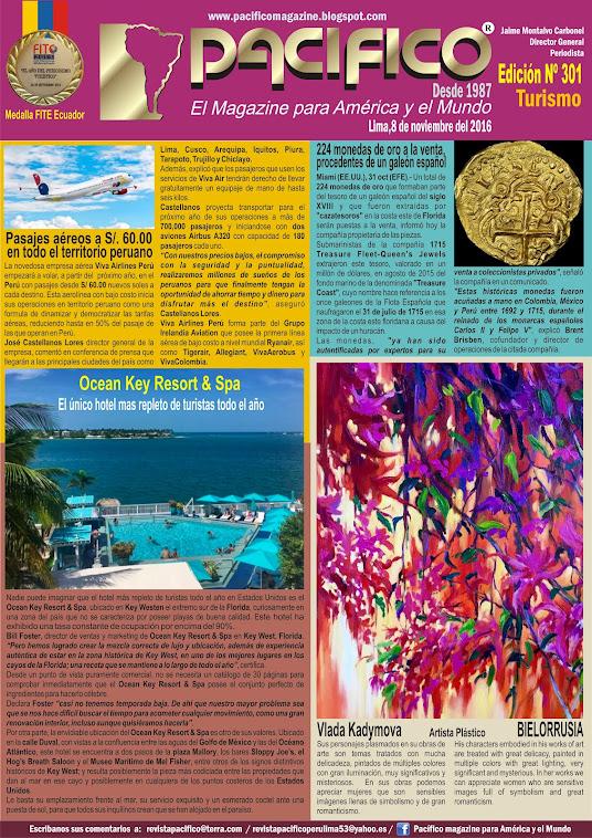 Revista Pacífico Nº 301 Turismo