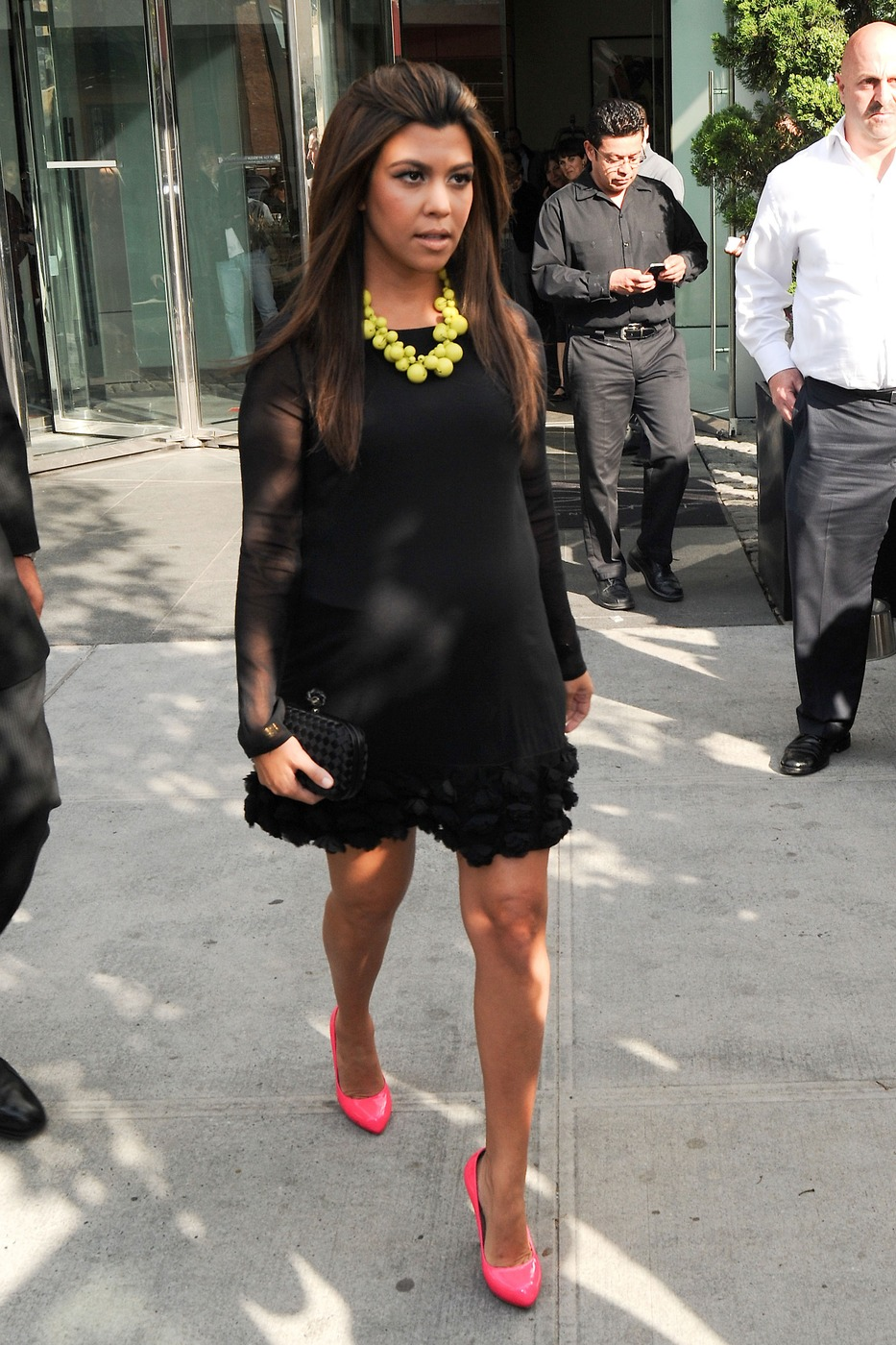 Kourtney Kardashian Glamorous Pregnant Fashion