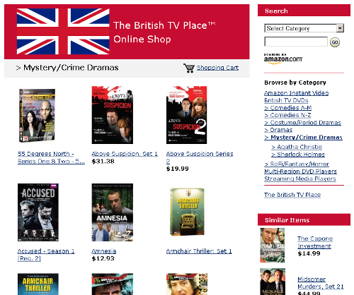 The British TV Place Online Shop