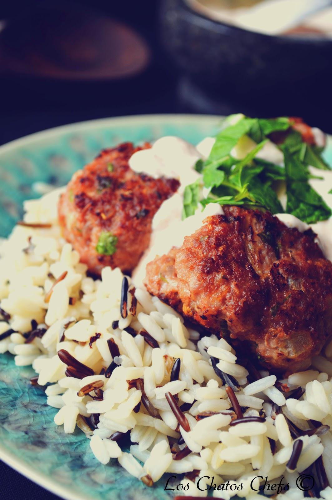 Los chatos chefs alb ndigas al estilo rabe - Acompanamiento para albondigas ...