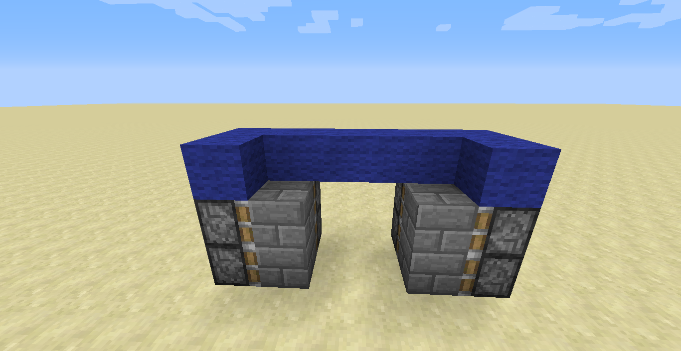 From the back & JCu0027s Techno Blog: Minecraft: Classic Jeb Door