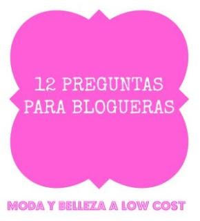 12 preguntas para blogueras