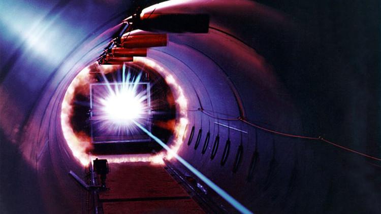 Jaón prueba el laser más potente del mundo.