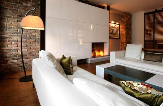 Corner Fireplace Decorating Ideas