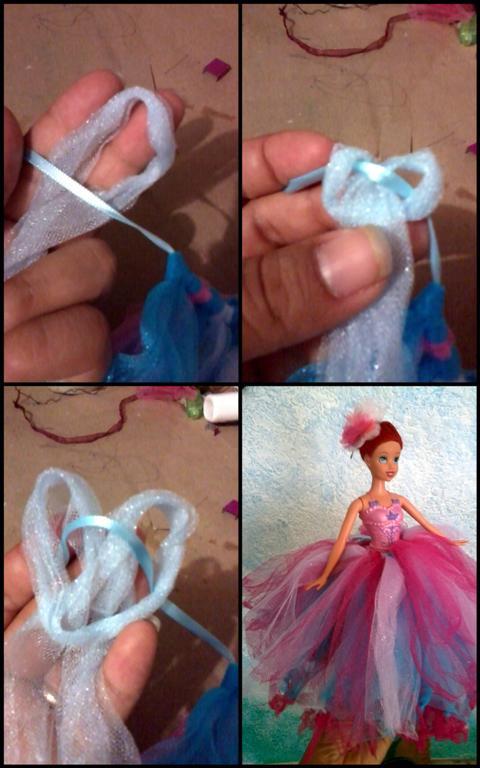 Como hacer vestidos elegantes para barbie