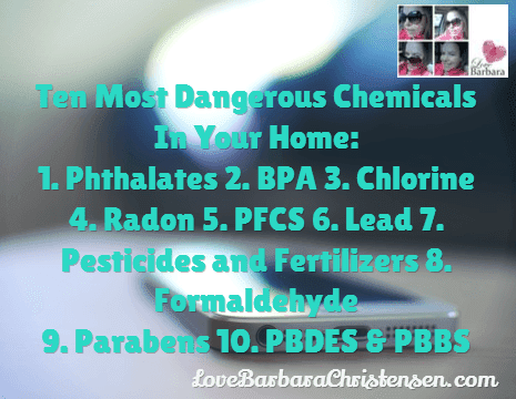 The Dangerous Chemicals Lurking In Your Home I Paleo Vegeo I Barbara Christensen NYR Organic BlendFresh DoTERRA Health