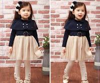 baju anak dress korea