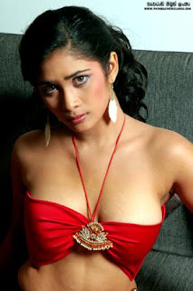 Anarkali Akarsha red boobs