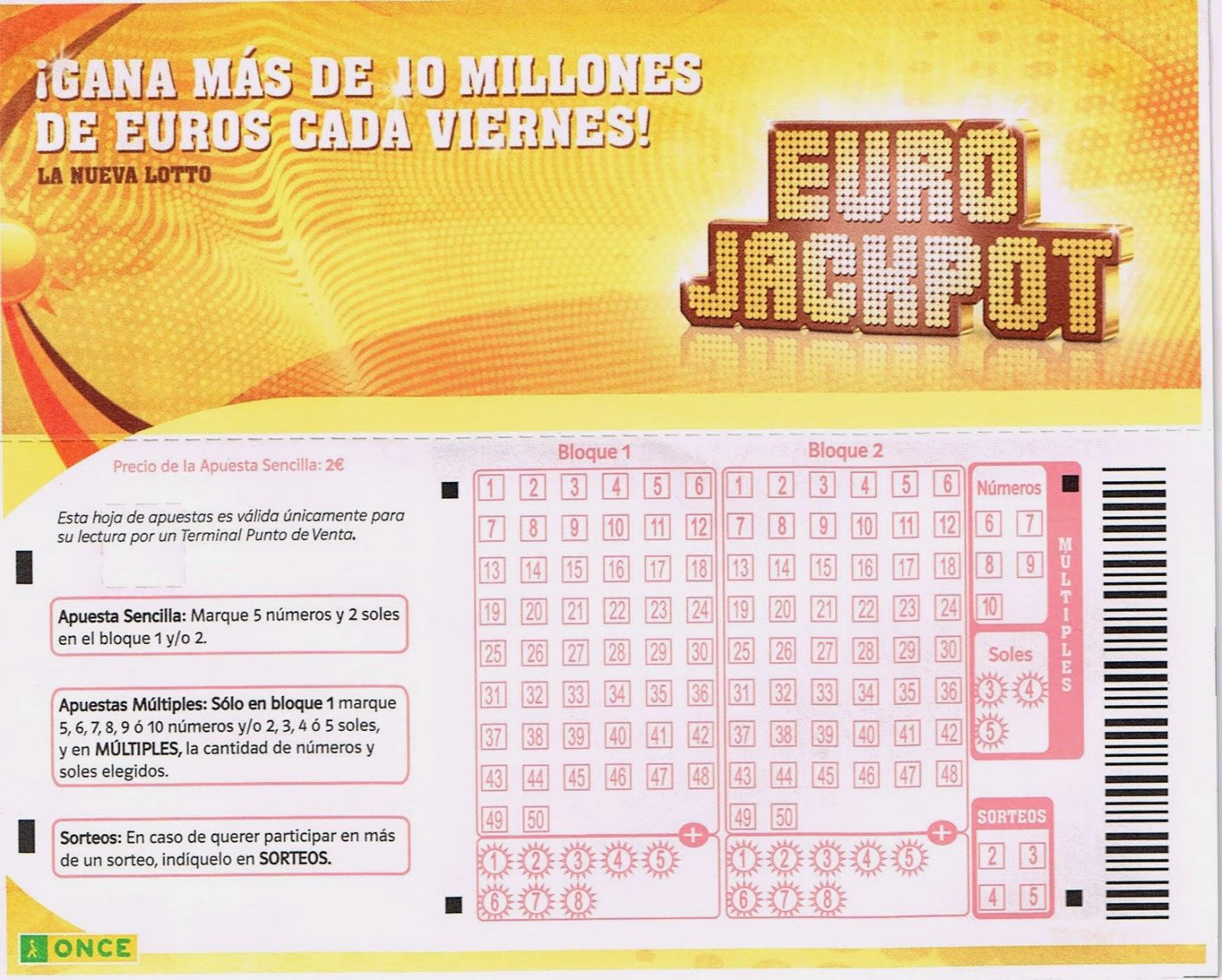 eurojackpot once
