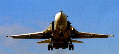 Су 24М в посадочной конфигурации.