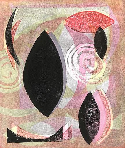 Tesia Blackburn - Monoprint