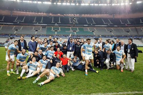 Emocionante victoria de Los Pumas en Francia