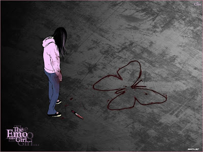 Sad emo girls wallpapers