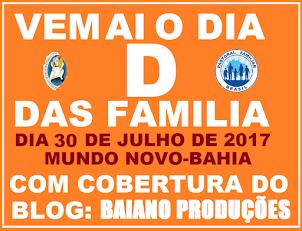 DIA D DAS FAMILIA