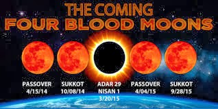 Blood Moon Lunar Tetrads Four 4