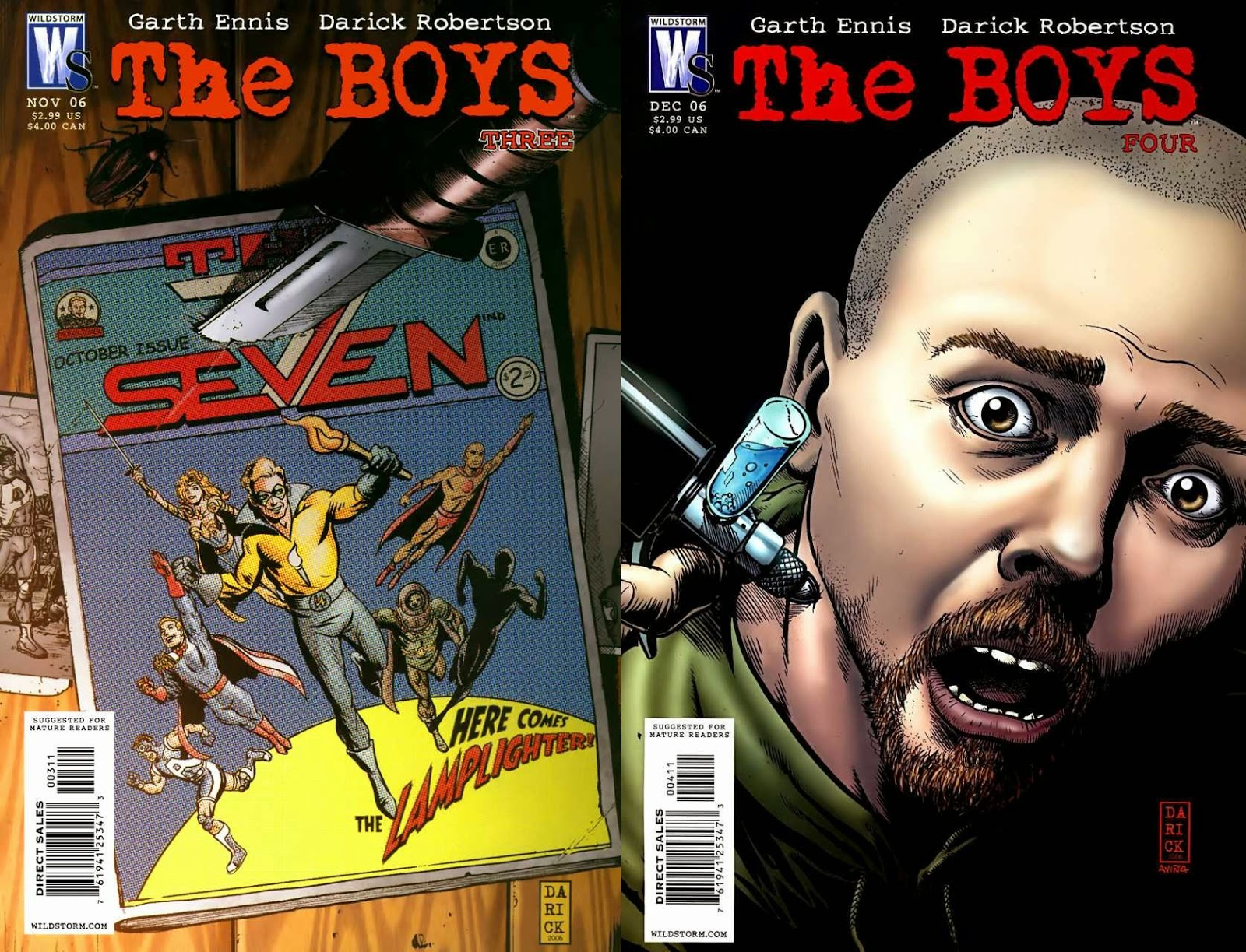 The Boys # 3 4 - Garth Ennis Darick Robertson