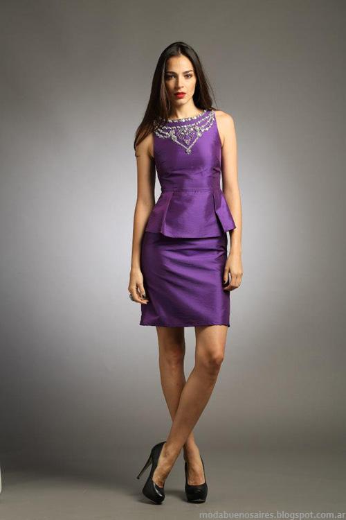 Vestidos Sathya moda invierno 2013