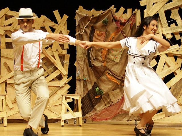 Trilha sonora do espetáculo dedicado a Jorge Amado traz ritmos de diversas manifestações populares, inspiração em personagens consagrados do escritor e artistas cantando e tocando vários instrumentos (Foto: Divulgação)