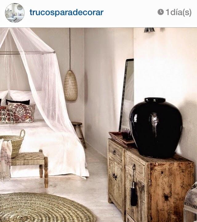 fotografía inspiradora relacionada con el estilismo de interiores: fuente Instagram
