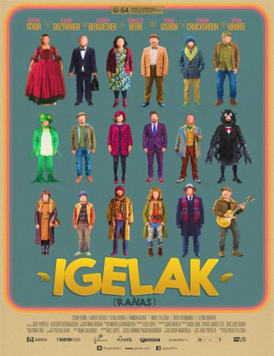Ver Ranas (Igelak) (2016) Online