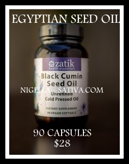 BLACK CUMIN SEED OIL CAPSULES - GRADE 1 FROM EGYPT