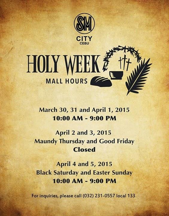 Holy-Week-2015-Mall-Hours-SM-City-Cebu