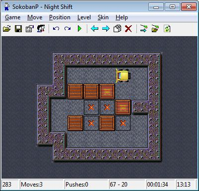 SokobanP Screenshot Game