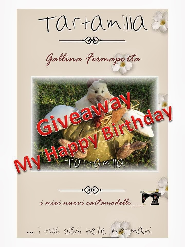 Giveaway My Happy Birthday