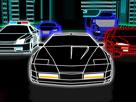 Neon Araba Yarışı Oyunu