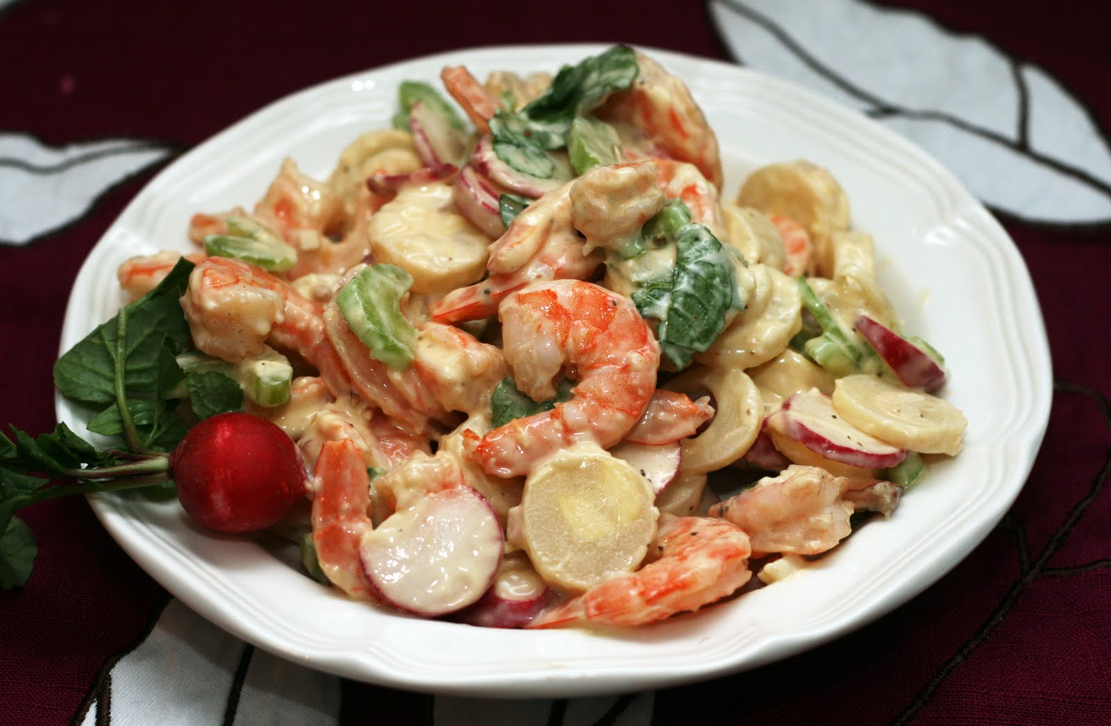 Coconut & Lime // recipes by Rachel Rappaport: Shrimp, Radish & Heart...