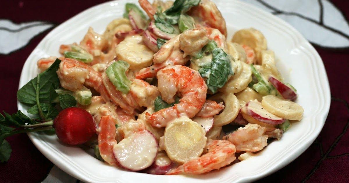 ... recipes by Rachel Rappaport: Shrimp, Radish & Hearts of Palm Salad