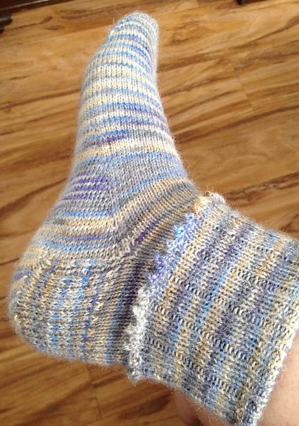 Knitting Goddess : Brityarn britsock by the knitting goddess yarn of