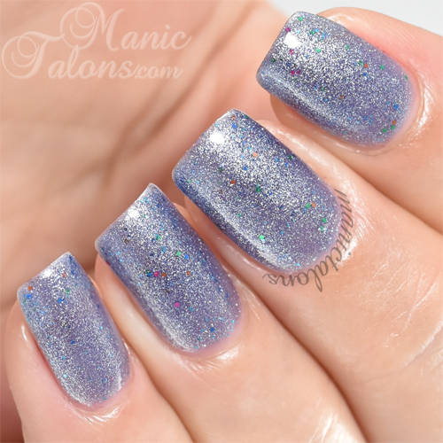 Madam Glam One Step Blue Fiesta Swatch
