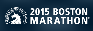 2015 Boston Marathon logo