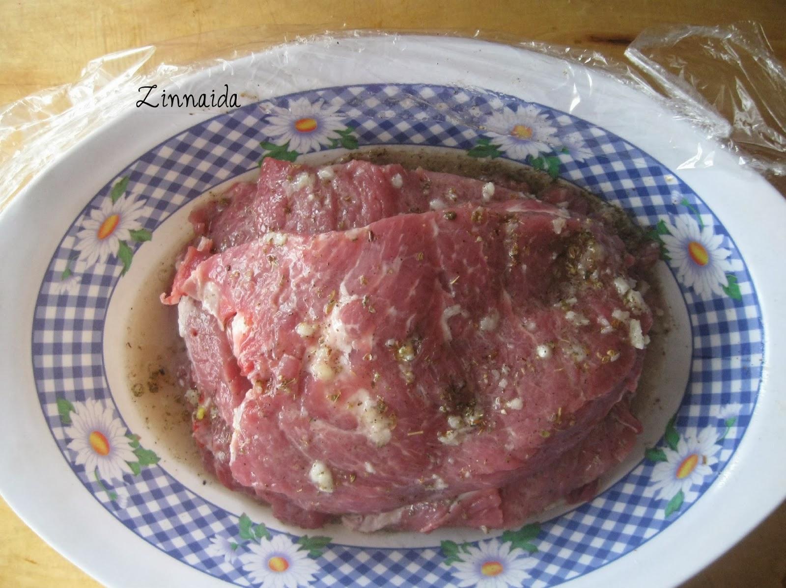 carnea-de-porc-in-marinada