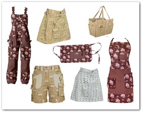 kjol för florister, gardengirl, garden girl