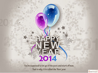 New Year 2014 SMS Wallpaper