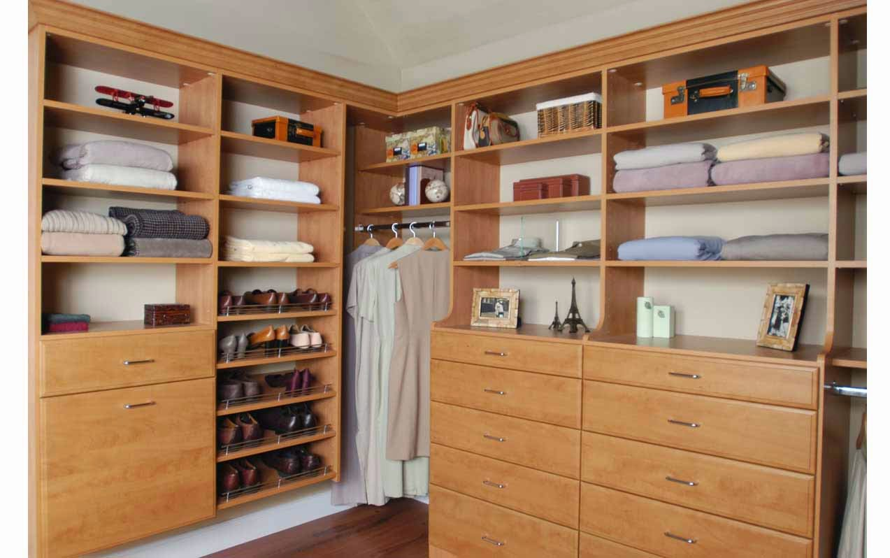 Closets for bedrooms without closets