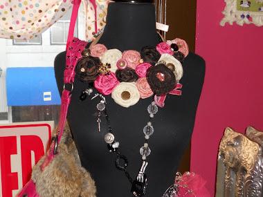 Handmade jewelry by Nichole Hawkins