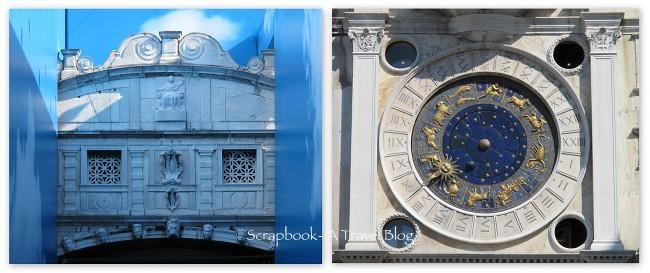 Bridge of Sigh and Clock Tower Venice Italy