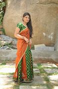 Actress Anusha Photos in Half saree-thumbnail-7
