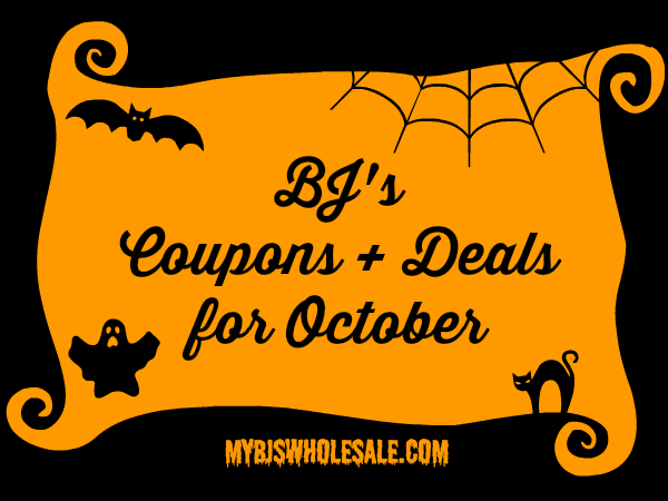 BJs Coupons and Deals for October