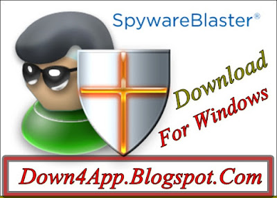 SpywareBlaster 5.4 Latest Version For Windows Download