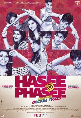 Watch Hasee Toh Phasee (2014) Hindi Non Retail DVDRip Full Movie Watch Online For Free Download