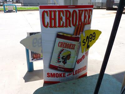 Cherokee cigarettes