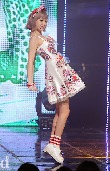 Orange Caramel Lizzy Catallena Live