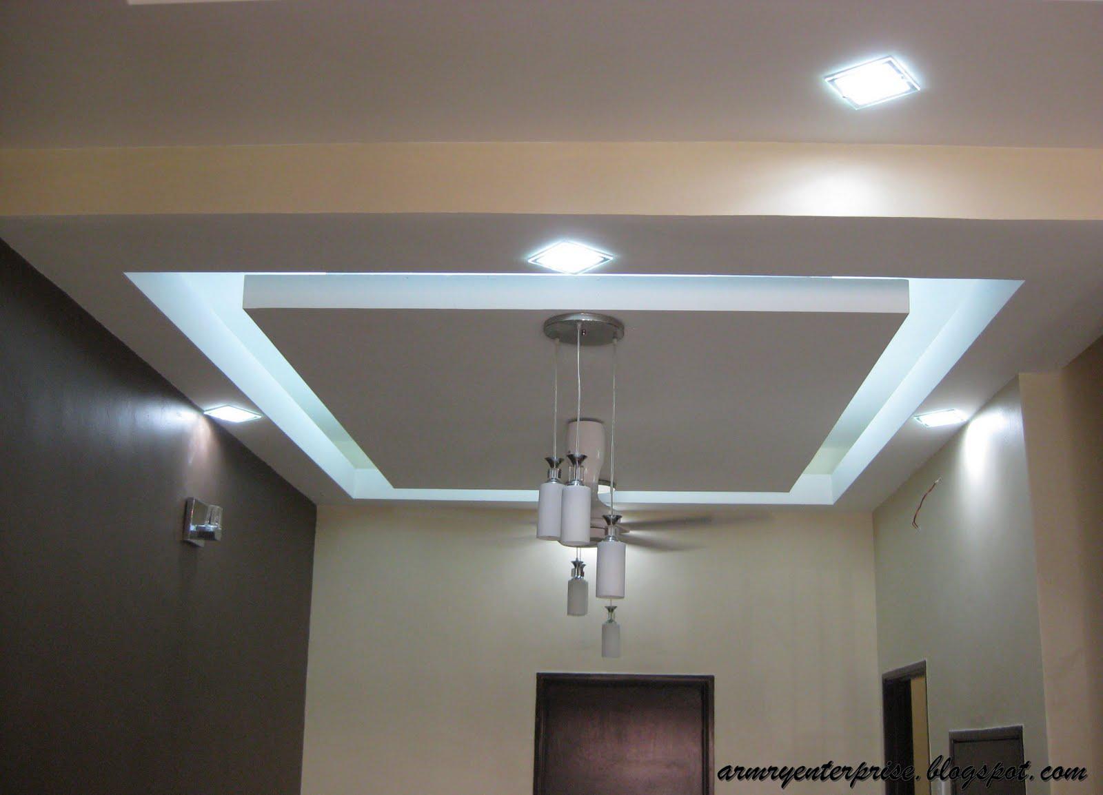 contoh gambar kapur siling plaster ceiling yang diambil