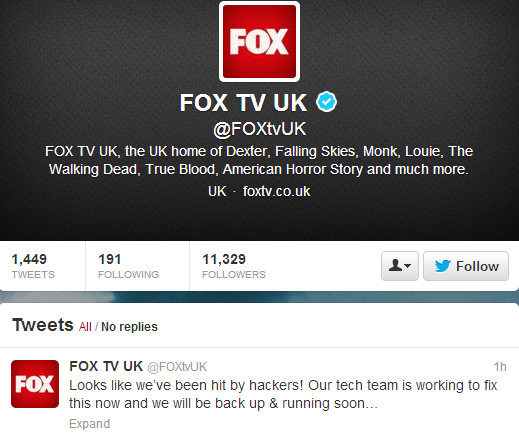 Syrian Electronic Army Hacks FOX TV Hootsuite account, SEA hacked hootsuite account, Syrian Electronic Army Hacks, Syrian Electronic Army Hacks twitter, Syrian Electronic Army Hacks hacked online accounts, Warned to Syrian Electronic Army